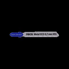 Lama Reca Eco per taglio metallo con esecuzione HSS 0.7 mm.