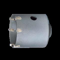 Punte a corona Reca con placchette in Hartmetall per impiego solo a rotazione