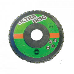 """Disco """"Ultra-Disc"""" lamellare all'ossido di zirconio"""