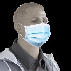 Mascherina chirurgica monouso a norma EN14683 - conf. 50 pezzi