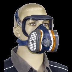Mascherina integrale con filtri sostituibili