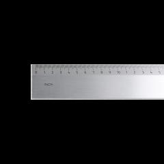 Riga millimetrata in acciaio Inox