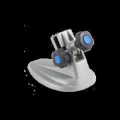 Porta micrometro con base ovale