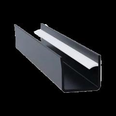 Binario in PVC per pannelli Flexo Therm e Acustop