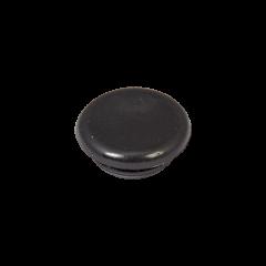 Tappo chiudiforo nero in PVC