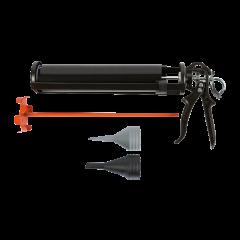 Pistola a tubo per materiale sciolto
