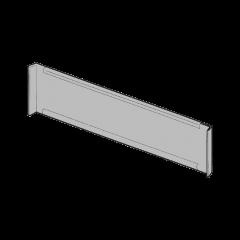 Divisorio rettangolare per piani di scaffalatura