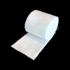 Rotolo di panno bianco in feltro