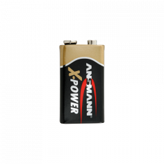 Batteria alcalina X-Power 9V E-Block