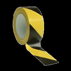 Nastro distanziatore giallo e nero