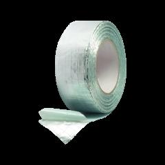 Nastro adesivo in alluminio con retina di rinforzo in fibra di vetro