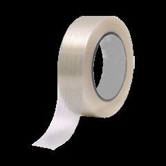 Nastro adesivo trasparente rinforzato per legatura di imballi pesanti